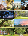 Color postcard photography for a historic South Carolina plantation. Each postcard is 5.5 x 8.5 inches.